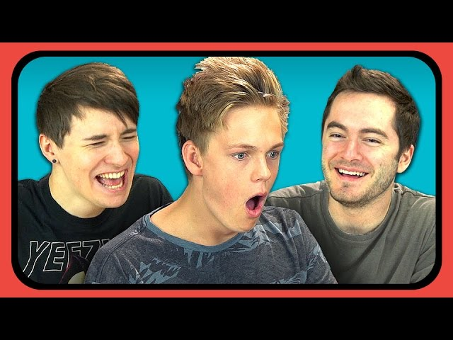 YouTubers React to Try to Watch This Without Laughing or Grinning #2
