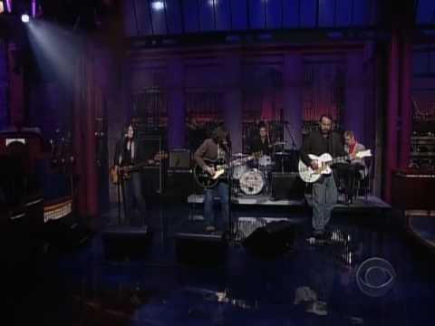 Ryan Adams - Let It Ride - live Letterman