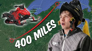 Snowmobiling across the midwest.. The longest ride ever!!