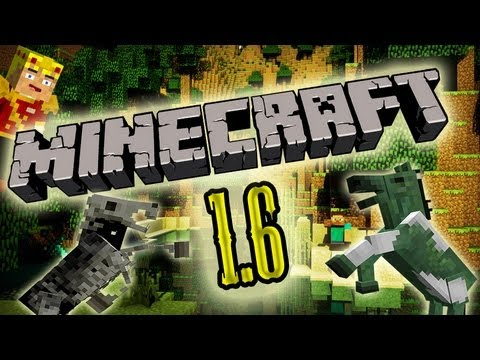 MineCraft 1.6.1 Update New Mobs!