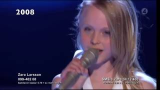 Download video Zara Larsson's voice through the years (2008-2016)
