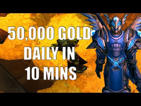 Wow Gold Guide - Make 50.000 Gold Per Hour - No Professions - Patch 6.0.2