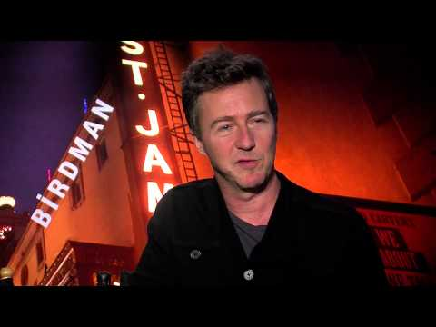 Edward Norton and Emma Stone say making of 'Birdman' was like 'Dancing with the Stars'