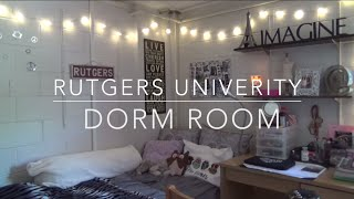 Dorm Room Tour & Tips: Rutgers University