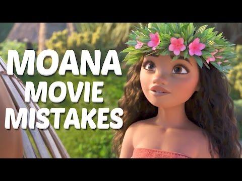 10 Disney Moana Movie Mistakes You Didn't Notice | Moana Goofs