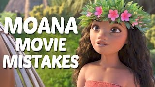10 Disney Moana Movie Mistakes You Didn't Notice - Moana Mistakes