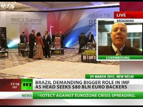 'Euro-dollar failing, BRICS seek more say in IMF'