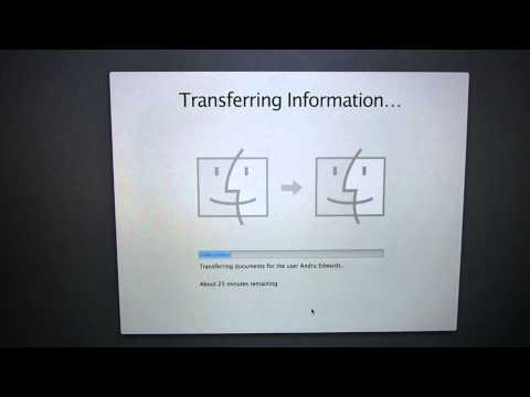 MacBook Pro with Retina display USB 3.0 Time Machine Restore