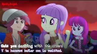My little Pony: Rainbow Rocks |Welcome to the Show| Subtitulada Ingles Español |720p|