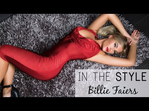 Behind the scenes: In The Style: Billie Faiers