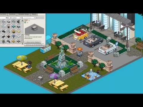 Habbo Tutorial - Central Park