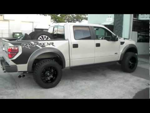 DUBSandTIRES.com 2013 Ford Raptor SVT  Review 20 inch 20x12 Fuel Octane Black off road 4x4 wheels