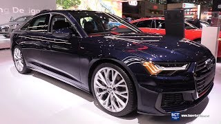 2019 Audi A6 - Exterior and  Interior Walkaround - 2019 New York Auto Show