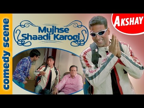 Akshay Kumar Comedy Scene |  Mujhse Shadi Karogi | Comedy Premier League | Indian Comedy