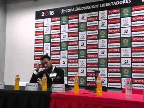 Eduardo Domiguez DT Huracán Copa Libertadores 2016 Vs Caracas FC