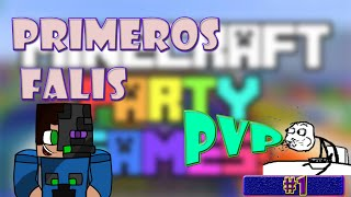 PARTY GAMES | PRIMEROS FAILS | MINECRAFT PVP