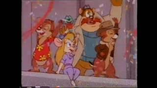 Chip 'N Dale Rescue Rangers VHS Trailer
