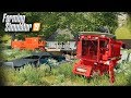 FS19- FOUND COMBINE WITH STOLEN TIRES ON AN ABANDONED FARM | HEADED TO THE SCRAP YARD