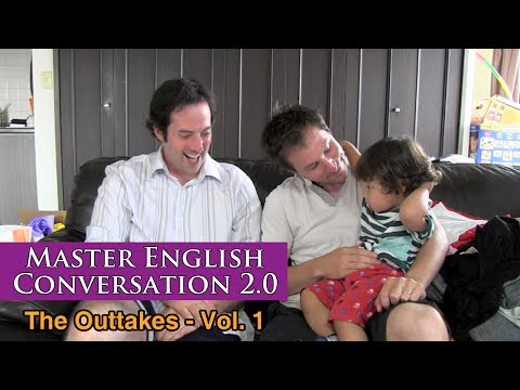 Master English Conversation 2.0 – Funny Clips, Bloopers, Mistakes and Outtakes Vol. 1