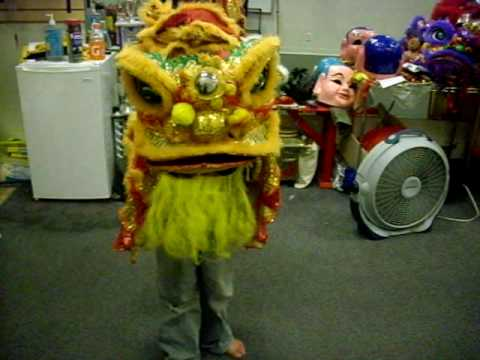 being Chinese Lion Dance.