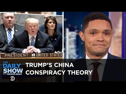 Trump's China Conspiracy Theory, Spotify's DNA Playlists & More Legroom on Planes | The Daily Show