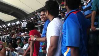 North stand of Wankhede (The legendary chant)