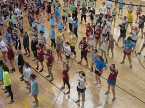 University of South Carolina Dance Marathon 2013 Line Dance