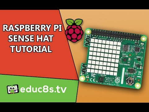 Raspberry Pi Tutorial: A first look at Sense Hat add-on board for the Raspberry Pi