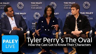 An Evening with Tyler Perry's The Oval - How the Cast Got to Know Their Characters