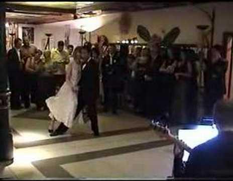 Tango dance in wedding