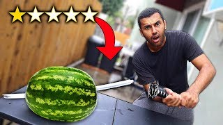 I Bought The WORST Rated WEAPONS On Amazon!! (1 STAR)