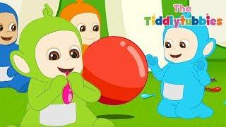 Tiddlytubbies NEW Season 2! ★ Episode 6: Bouncing Balloon ★ Teletubbies Babies ★ Kid Shows