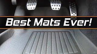 All weather Mats 3dmaxpider  Carbon Fiber pattern Kagu rubber for Dodge Challenger