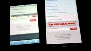 Browser Comparison - Galaxy Nexus vs iPhone 4S