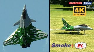 *3D THRUST VECTORED* Rafale RC JET with G-FORCE Smoke-EL [*UltraHD and 4K*]