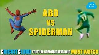 AB de Villiers CAREER BEST ACROBATIC CATCHES Like a Spiderman !!