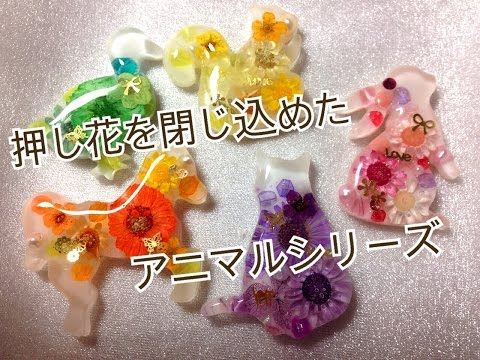 押し花で作る素敵な小物&アクセサリー作り方&アイデア