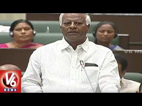 TS Assembly : Dy CM Kadiyam Srihari Clarifies Opposition Questions | Education System | V6 News