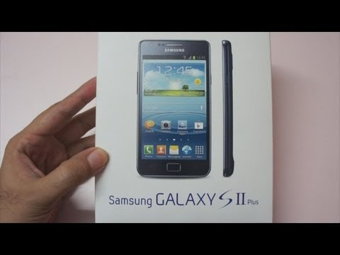Samsung Galaxy S2 Plus Unboxing & Overview