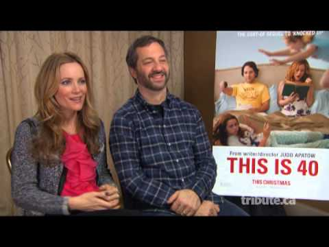 Leslie Mann & Judd Apatow - This Is 40 Interview with Tribute