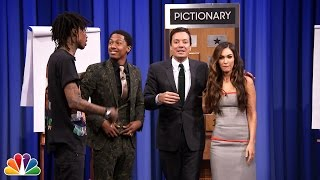 Pictionary with Megan Fox, Nick Cannon and Wiz–Part 2