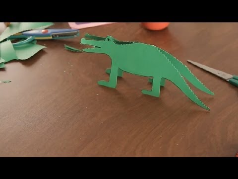 how to make crocodiles with toddlers