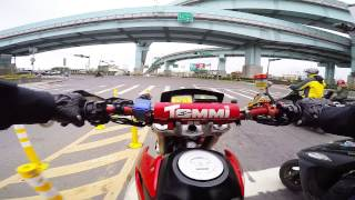 GoPro Hero4 test # Honda FMX650 Racing #2