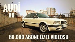 80.000 Abone Özel | Audi 80 İnceleme Test | Otomobil Günlüklerim