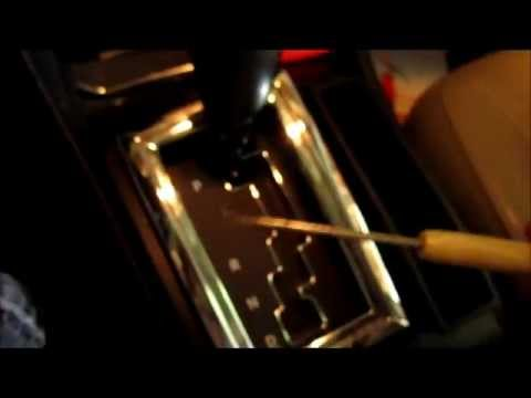 Dodge Magnum Charger Shifter Lock Bypass Emergency