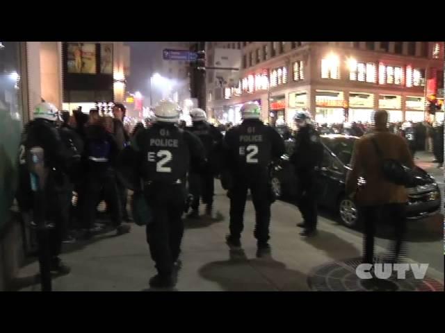 CUTV - April 25 protest