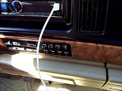 94 buick LeSabre heater and A/C control problems - YouTube