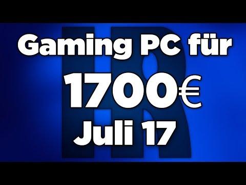 Gaming PC für 1700€ Juli 2017 | Intel & AMD | Computer günstig kaufen