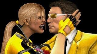 Mortal Kombat Komplete Mods Sonya & Johnny Cage Gold Costumes