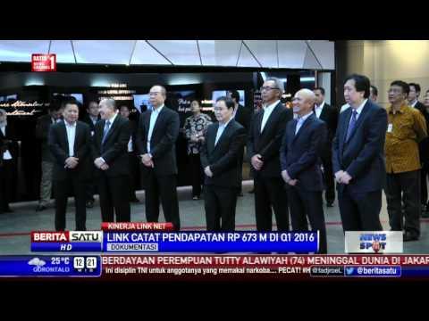 Q1 2016, Link Net Bukukan Pendapatan Rp 673 Miliar